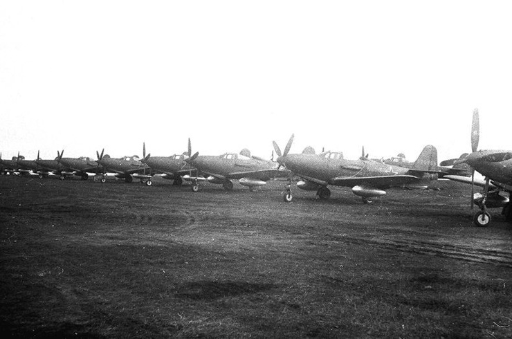 American planes in Russian army 12