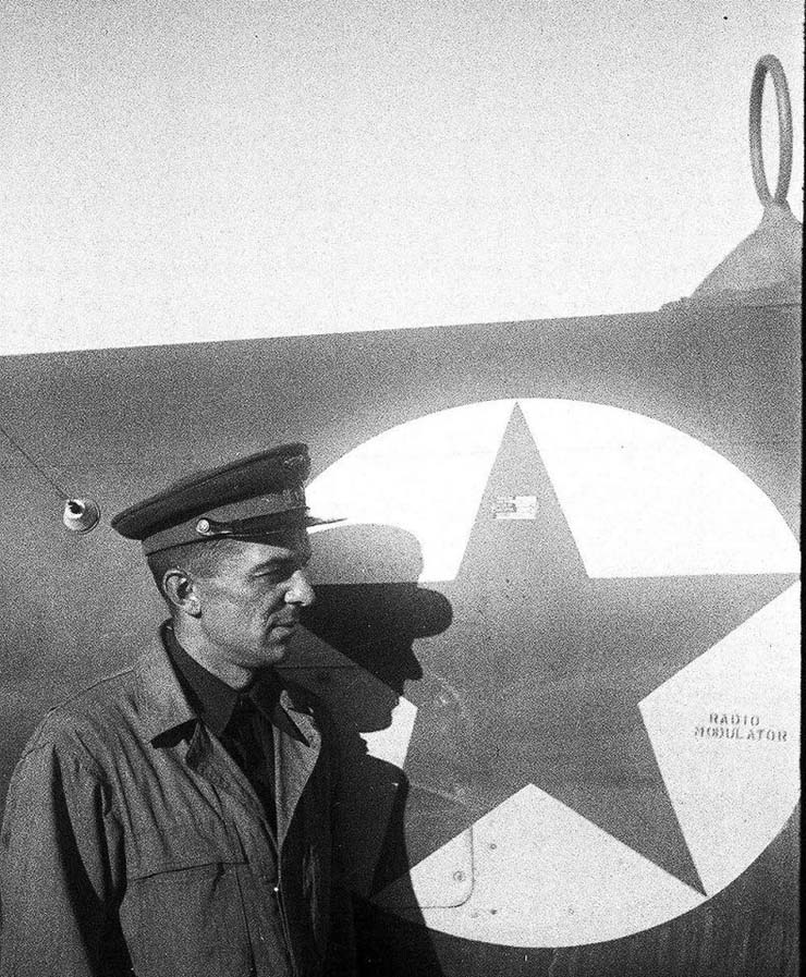 American planes in Russian army 18