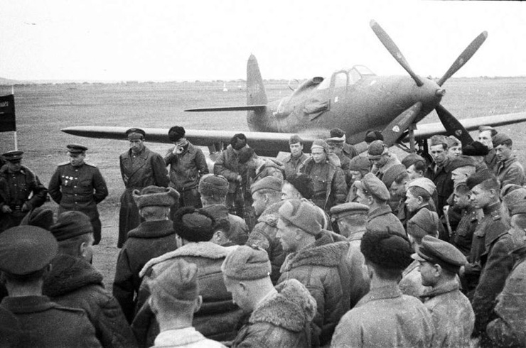 American planes in Russian army 22