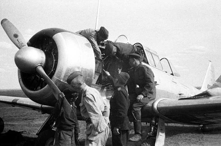 American planes in Russian army 6