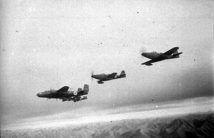 American planes in Russian army 8
