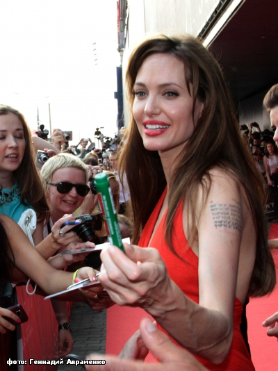 Angelina Jolie in Moscow 16