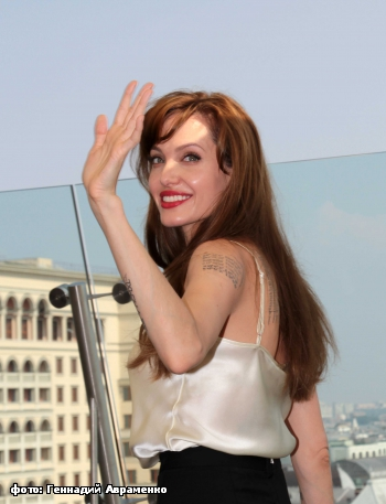 Angelina Jolie in Moscow 4