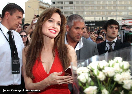Angelina Jolie in Moscow 8