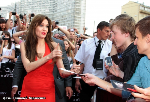 Angelina Jolie in Moscow 9