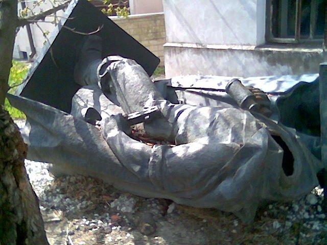Monument of Soviet origin in Estonia 3