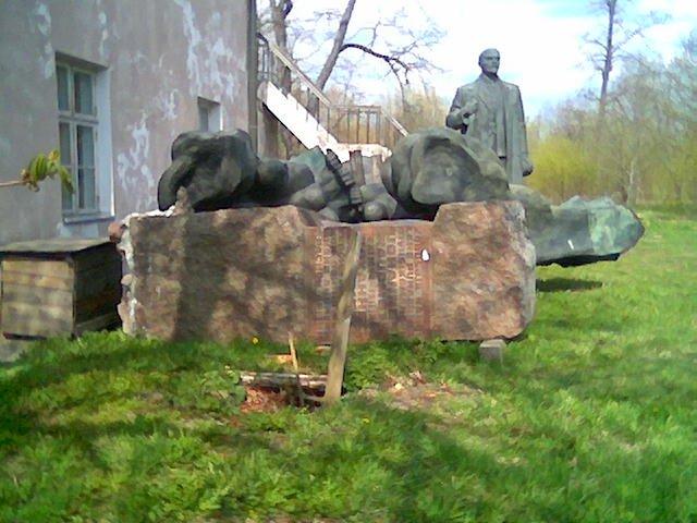 Monument of Soviet origin in Estonia 7