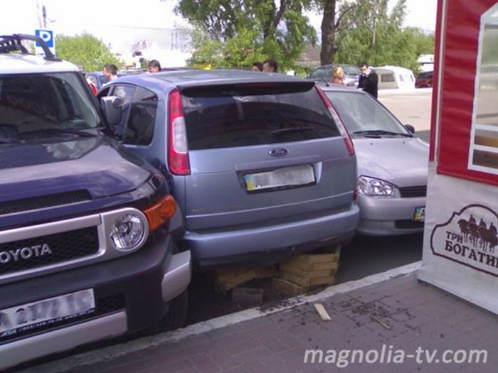 Another Russian parking 3