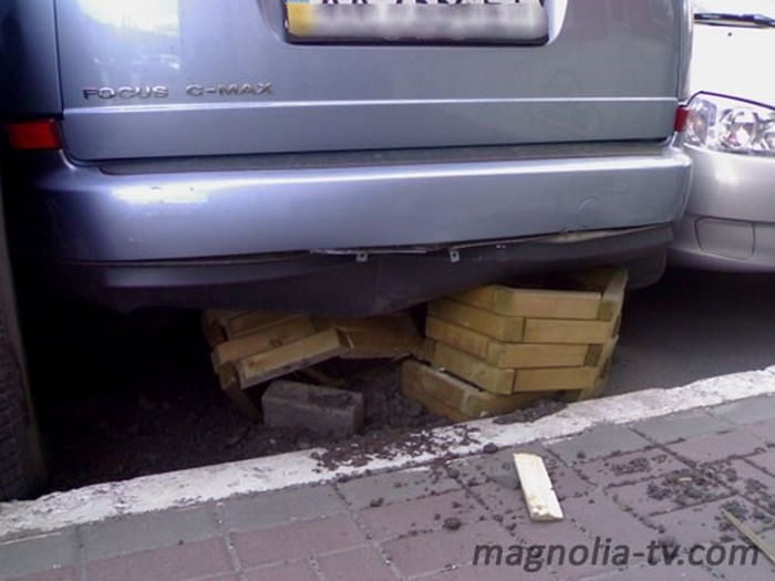 Another Russian parking 4