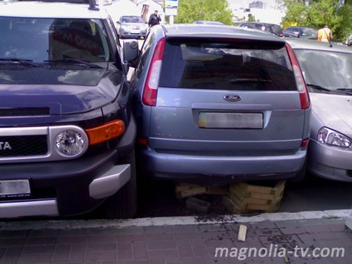 Another Russian parking 5