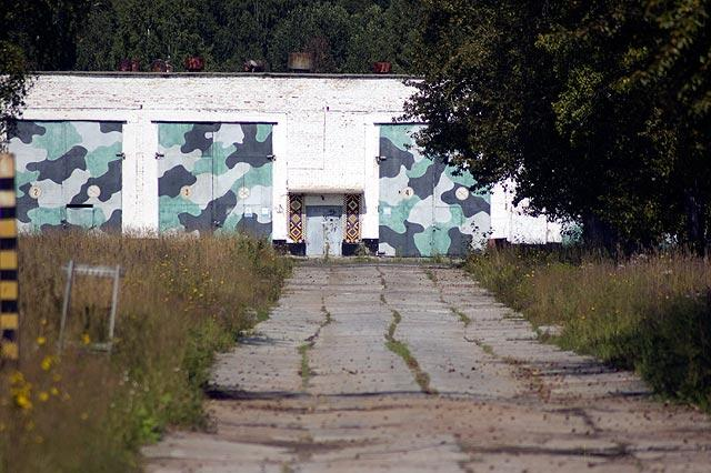 Abandoned missile base in Russia 1