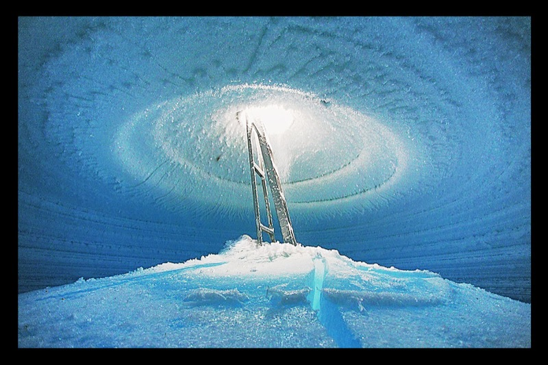 Russian station in Antarctics
