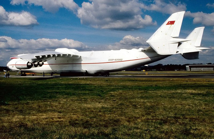 Antonov AN-225 the worlds heaviest and largest jet 17