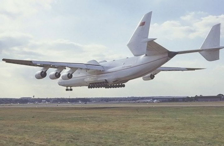 Antonov AN-225 the worlds heaviest and largest jet 7