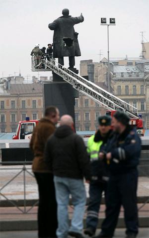 April day Lenin blown up prank 5