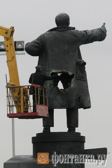 April day Lenin blown up prank 9