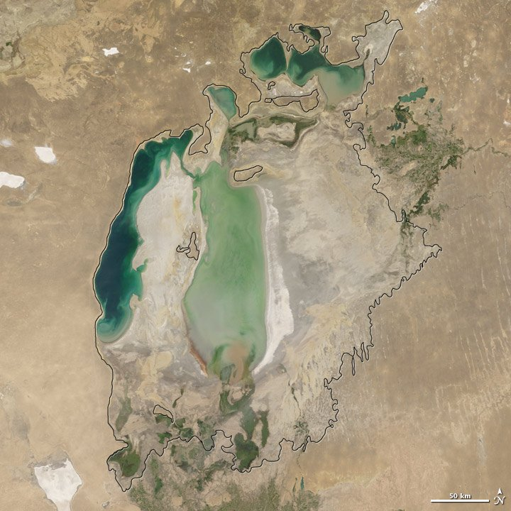Aral Sea, Russia 7