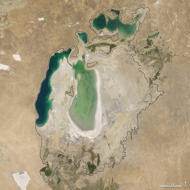 Aral Sea, Russia 8