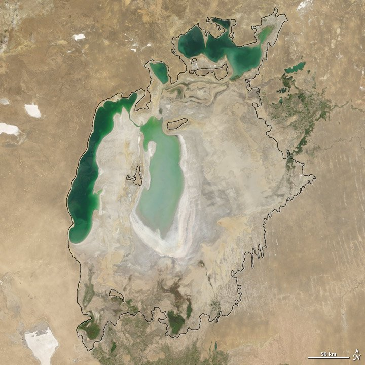 Aral Sea, Russia 9