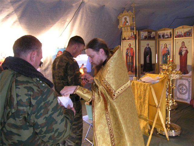 russian church in army