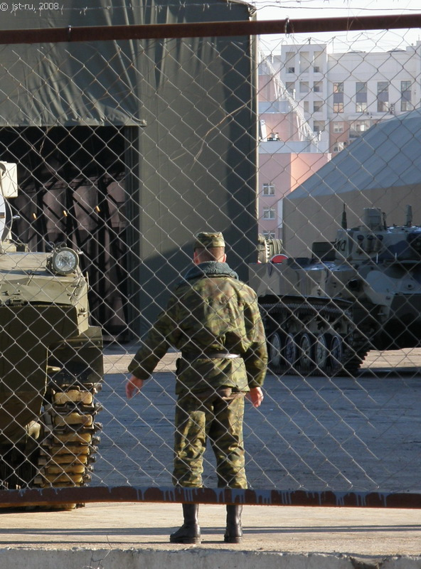 Moscow, Russia invaded by Russian Army 17