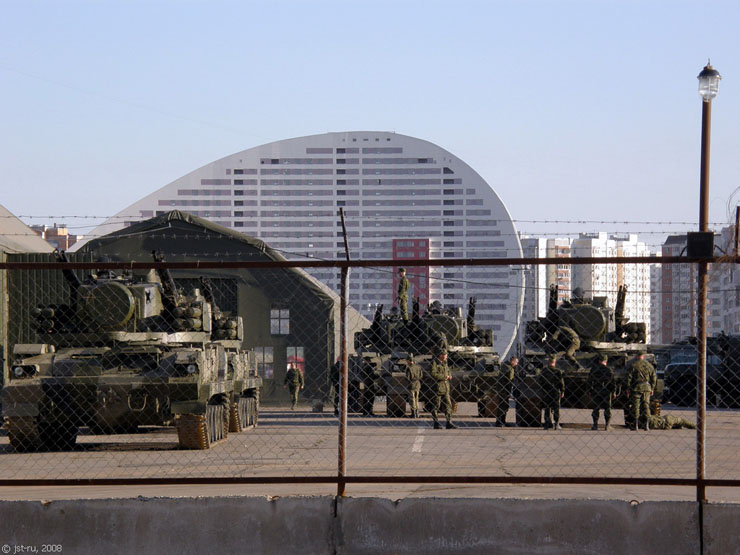 Moscow, Russia invaded by Russian Army 20