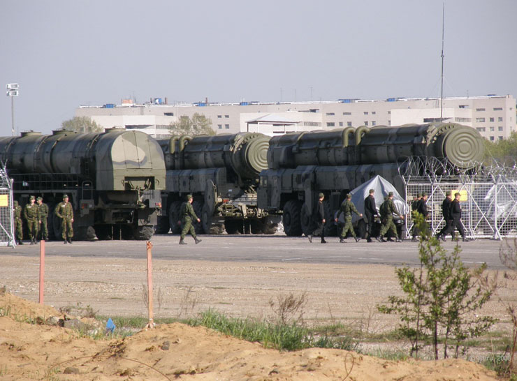 Moscow, Russia invaded by Russian Army 31