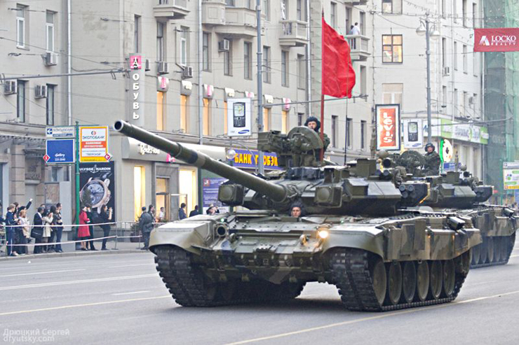 Moscow invaded by Russian army 10