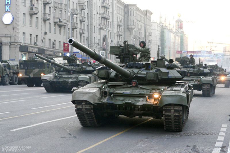 Moscow invaded by Russian army 13