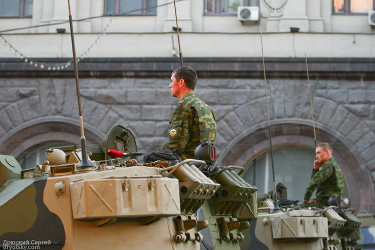 Moscow invaded by Russian army 18