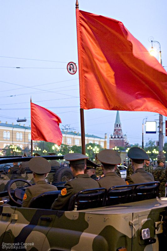 Moscow invaded by Russian army 22