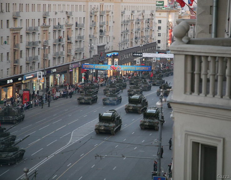 Moscow invaded by Russian army 23