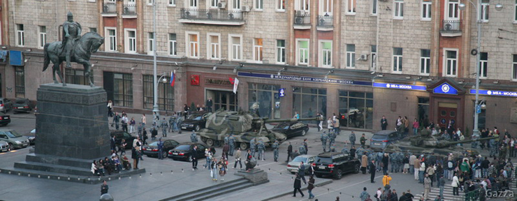 Moscow invaded by Russian army 25