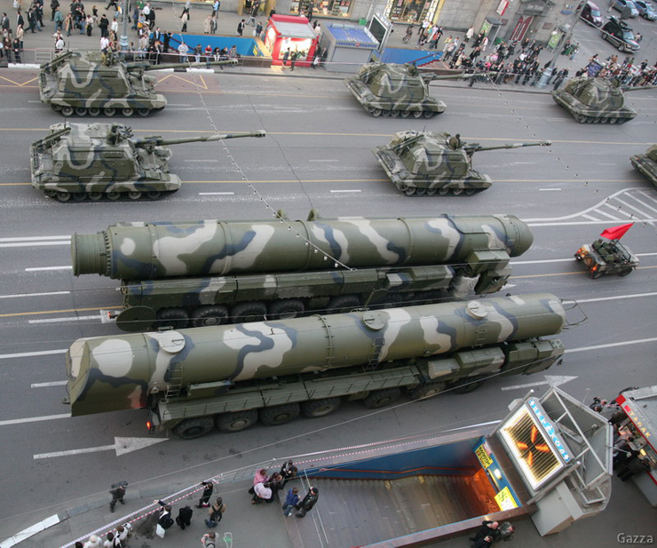 Moscow invaded by Russian army 26