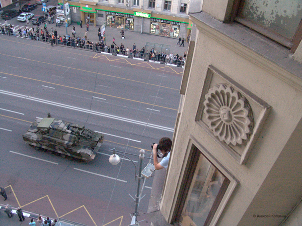 Moscow invaded by Russian army 27