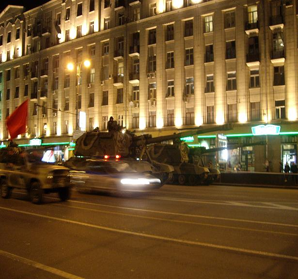 Moscow invaded by Russian army 28