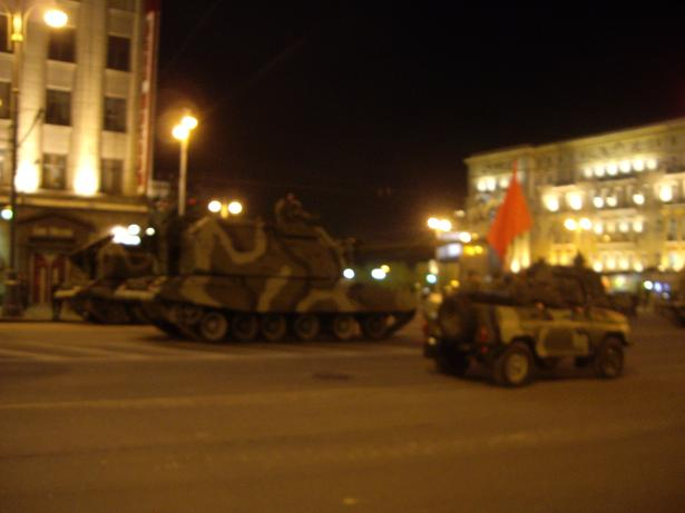 Moscow invaded by Russian army 33
