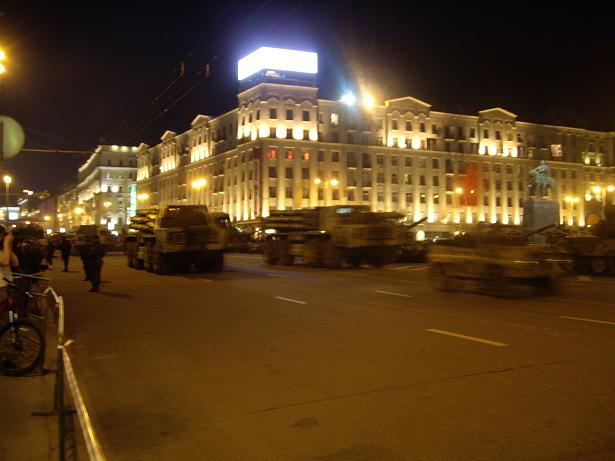 Moscow invaded by Russian army 37