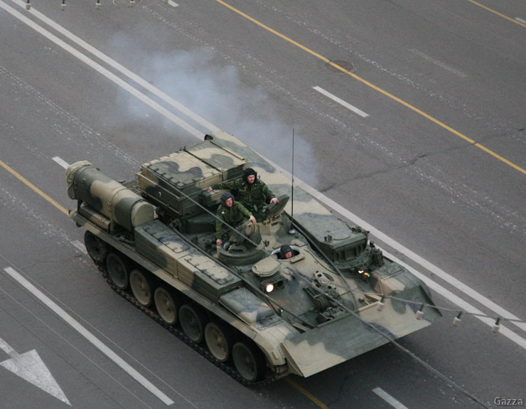 Moscow invaded by Russian army 5
