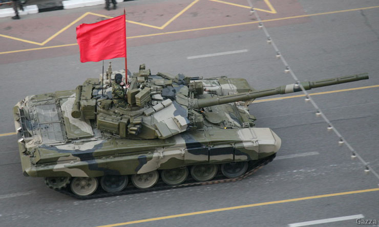 Moscow invaded by Russian army 6