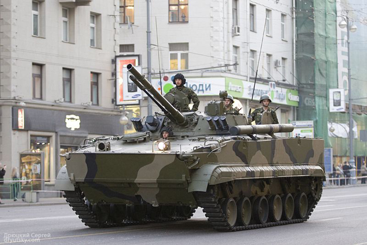Moscow invaded by Russian army 9