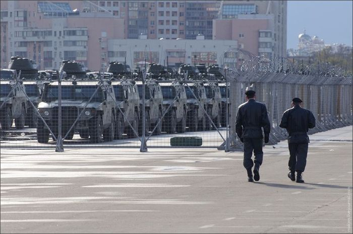 Military Units near Moscow City