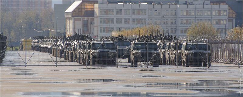 Army units near Moscow 12