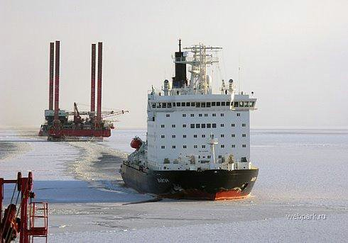 Russian nuclear-powdered icebreakers 1