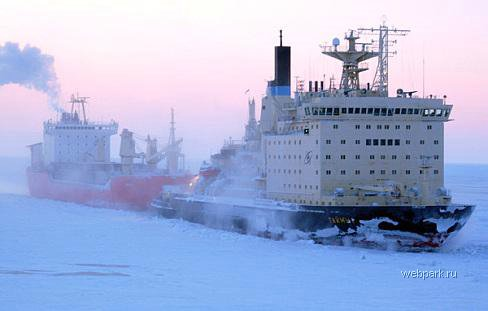 Russian nuclear-powdered icebreakers 12