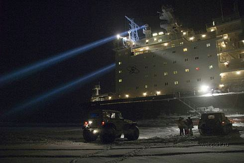 Russian nuclear-powdered icebreakers 13