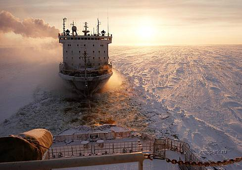 Russian nuclear-powdered icebreakers 16