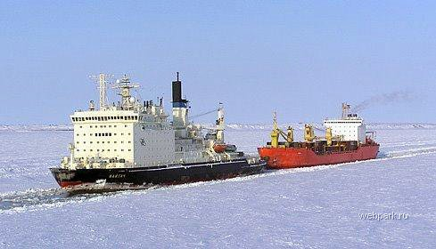Russian nuclear-powdered icebreakers 29