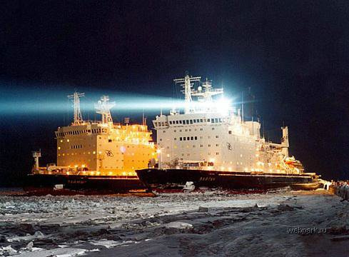 Russian nuclear-powdered icebreakers 3