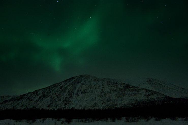Aurora borealis in Russia 10